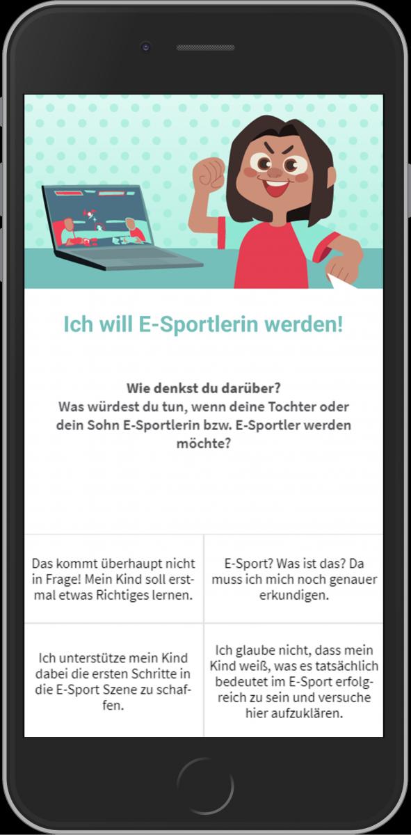 Umfrage E-MINT App